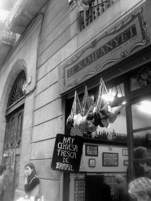 El Xampanyet - Barcelona in Black and White