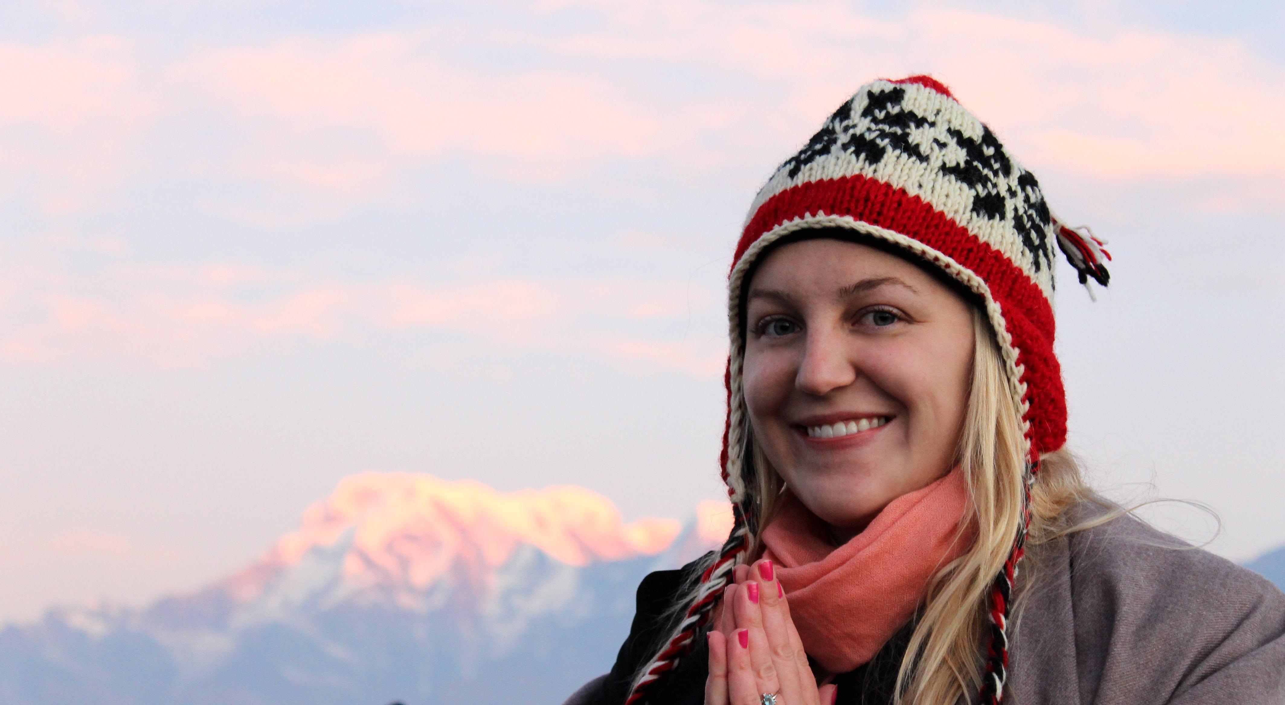Sunrise in Pokhara