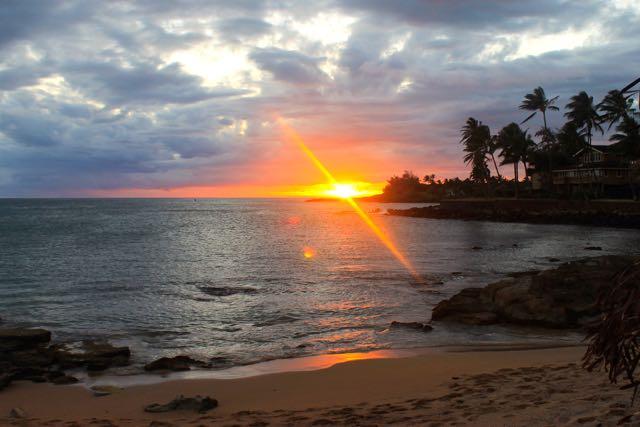 Poipu, Kauai sunset