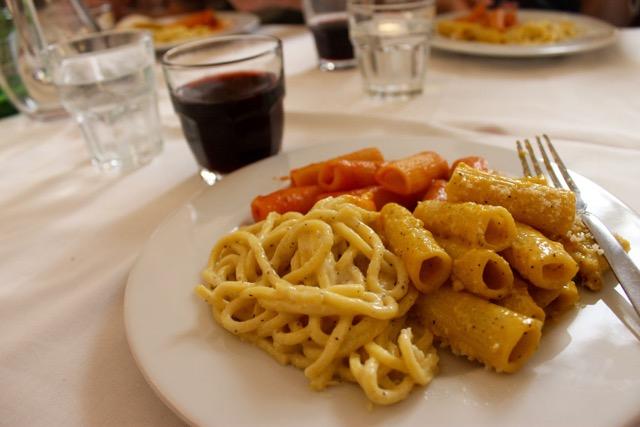 Pasta at Flavio al Velavevadetto