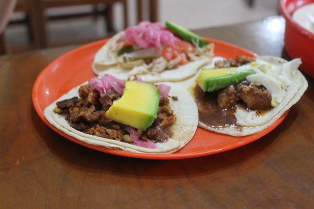tacos in Valladolid