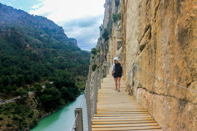 Walking El Caminito del Rey in Spain