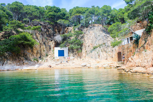 Coastal views in Costa Brava