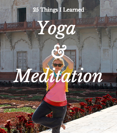 things learned from yoga and meditation