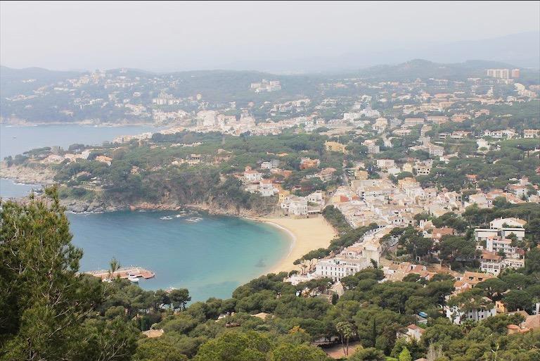 Costa Brava coastline