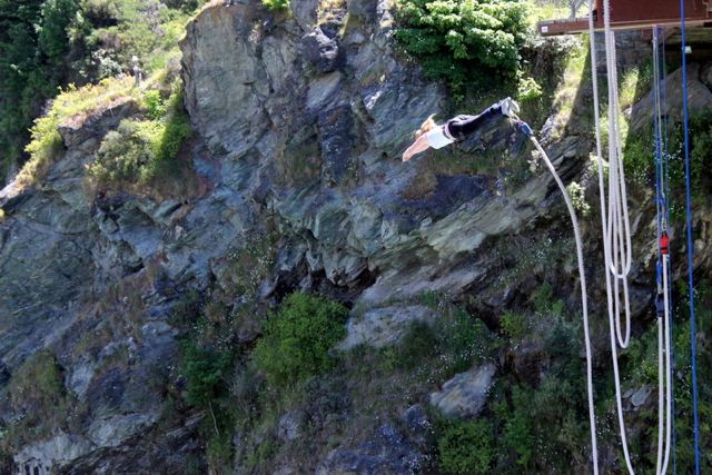 New Zealand bungy jump