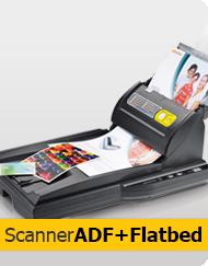 Scanner ADF + Flatbed