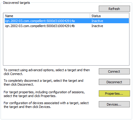 iSCSI_Initiator_First_Target