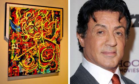 Celebrities and art