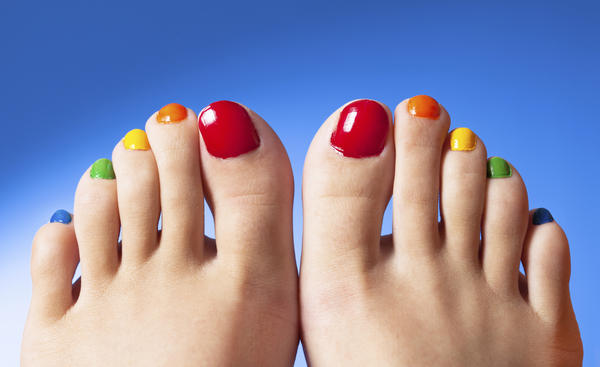 Brittle toenails in toddlers