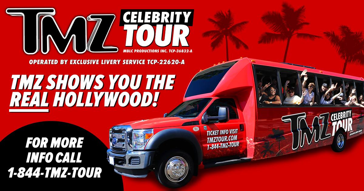 Celebrities tour