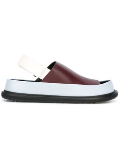 сандалии дизайна колор-блок Marni