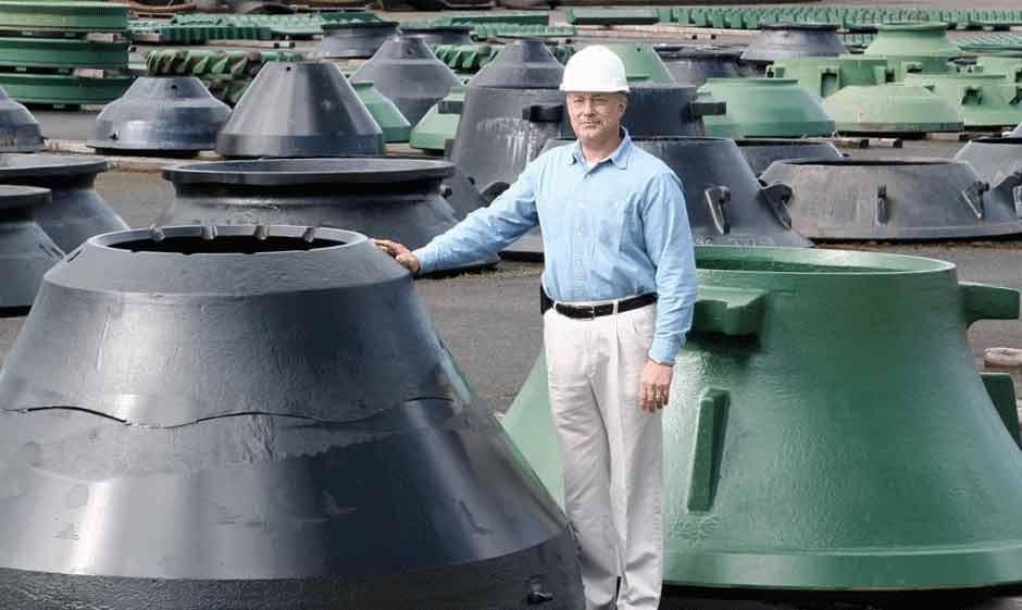 Dymethaberry steel crushers