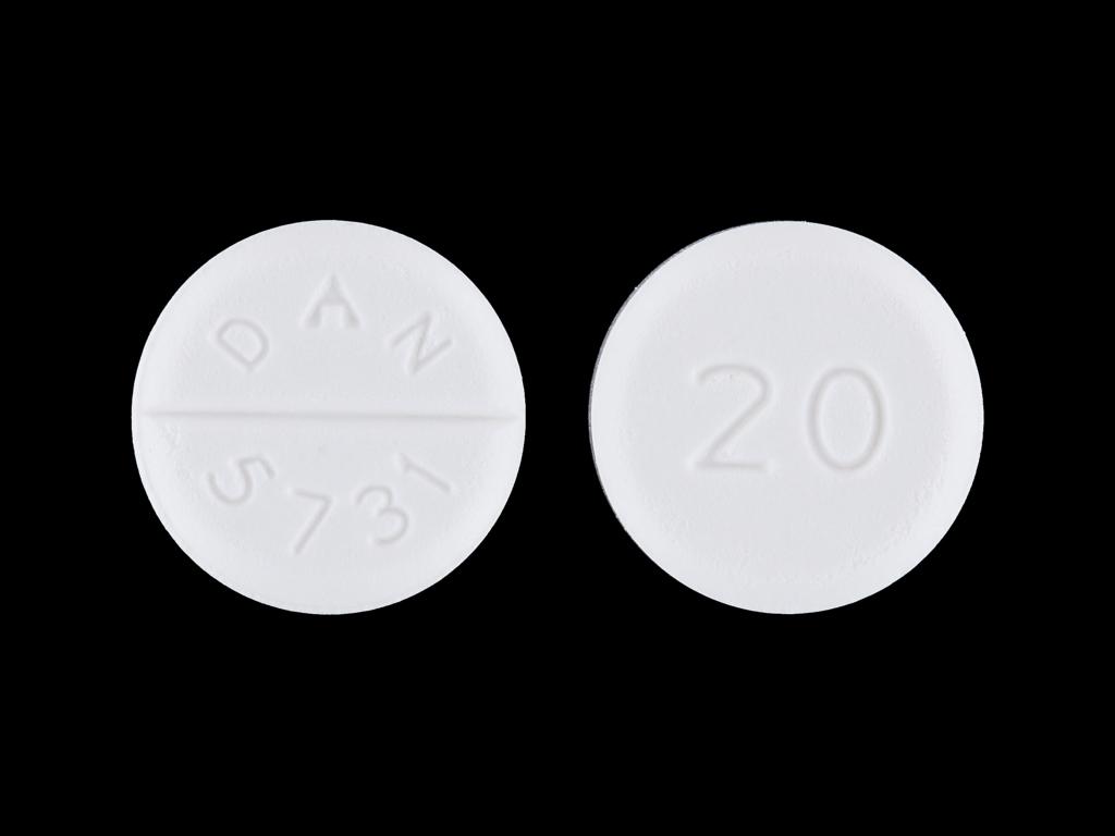 Baclofen 20 DAN 5731