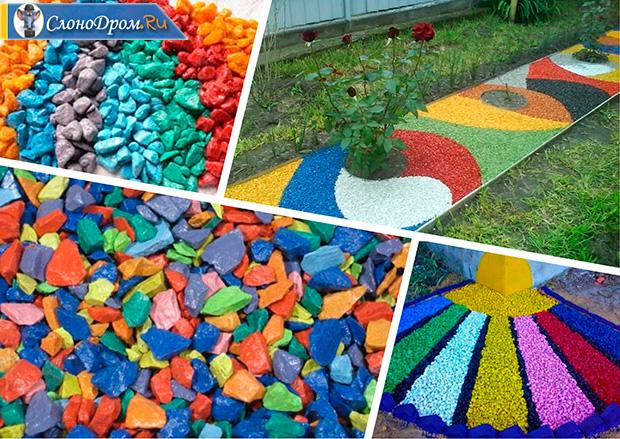 Производство цветного щебня бизнес