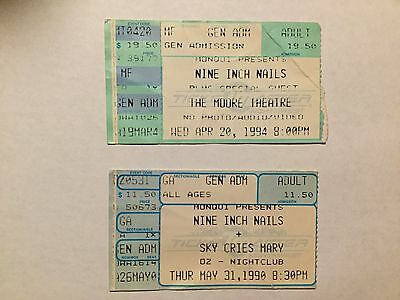 Nine inch nails tickets seattle