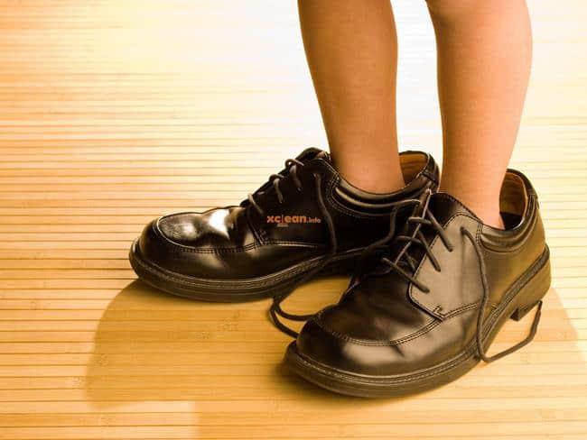 Что делать если обувь на размер больше