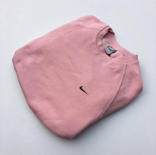 Nike sweater pink