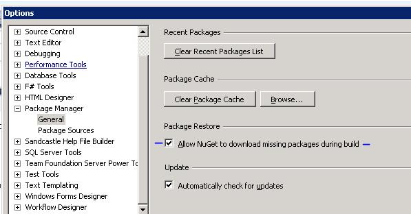NuGet Package Restore