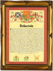 what does the name delacroix mean