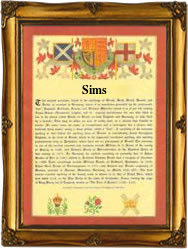 Surname Scroll For Sims