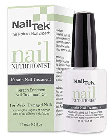 Keratin oil for nails