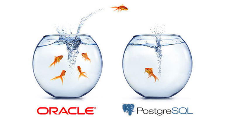 Processing SQL queries in Oracle and PostgreSQL