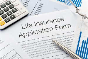 Life insurance application form