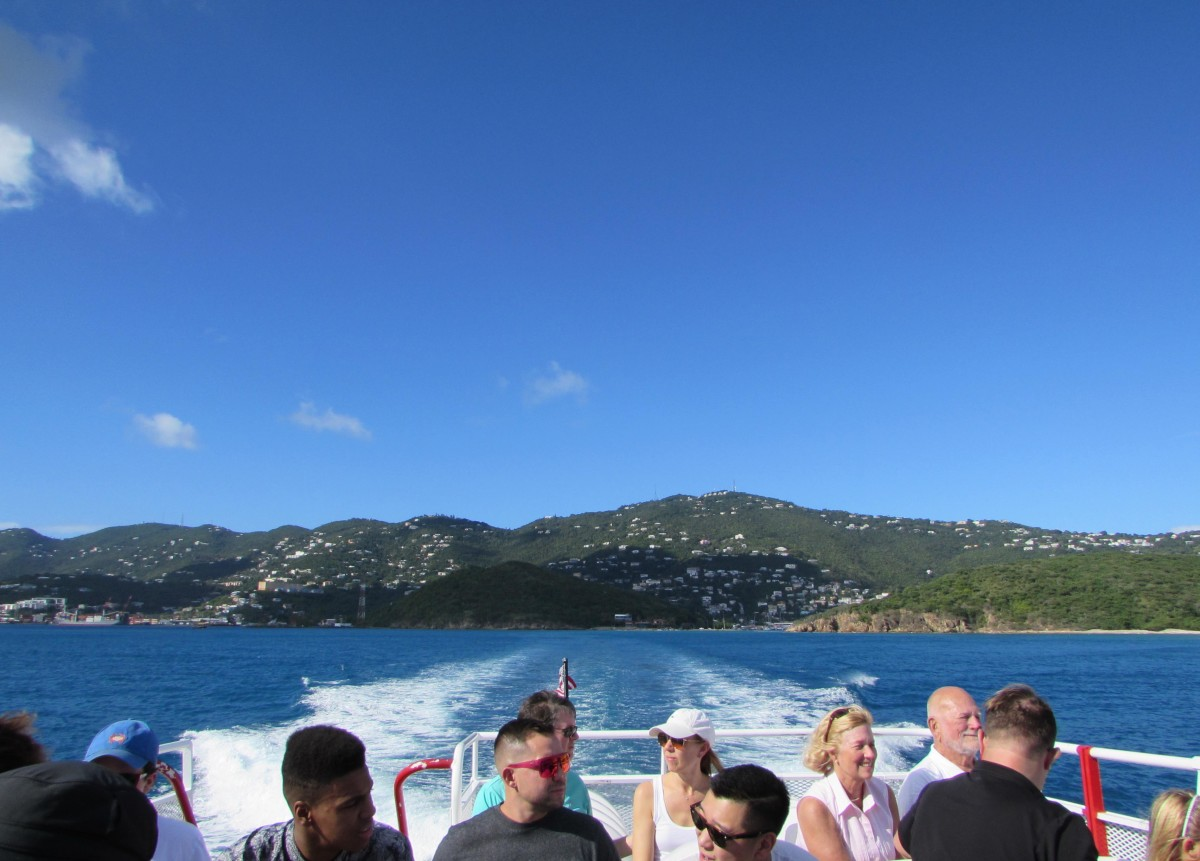 Looking back to St. Thomas