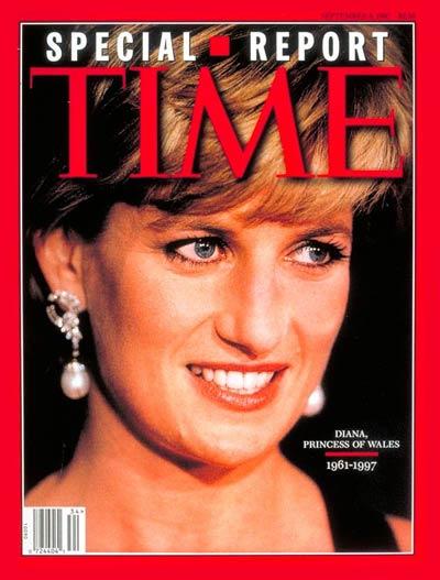 Time magazine covers princess diana