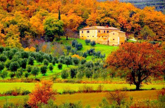 Тоскана погода в ноябре