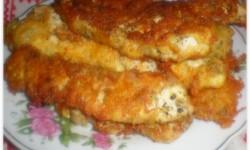 Филе куриное с сыром в сухарях