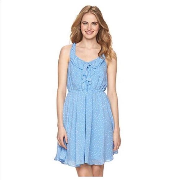 Blue lauren conrad dress