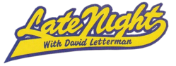 David letterman show writers