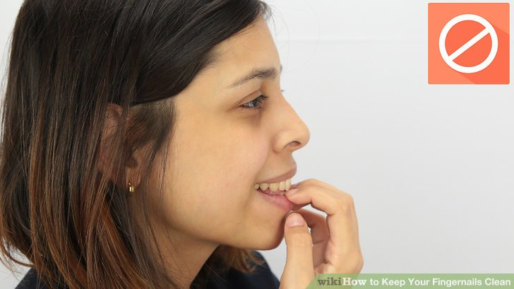 How to quit chewing fingernails