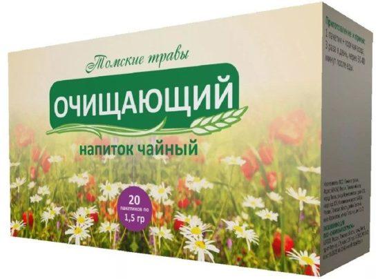 Монастирський чай для очищення організму