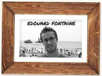 Portarit de Edouard Fontaine