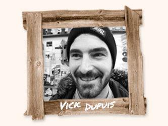 Portarit de Vick Dupuis