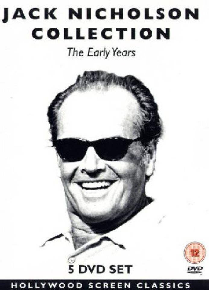Jack nicholson collection the early years dvd