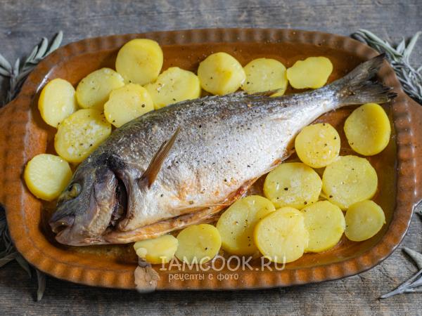 Готовим рыбу в духовке