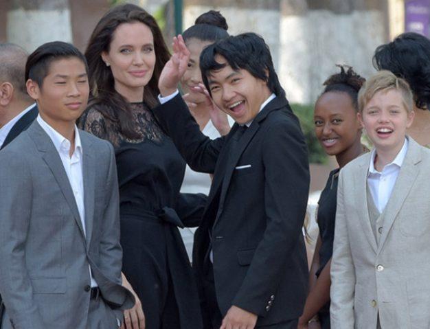 Анджелина джоли и ее дети последние фото