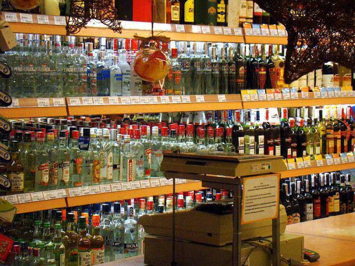 Наказание за торговлю алкоголем без лицензии