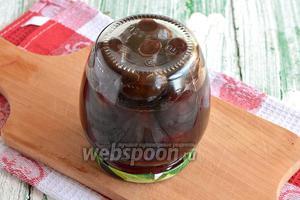 Рецепт слива венгерка маринованная