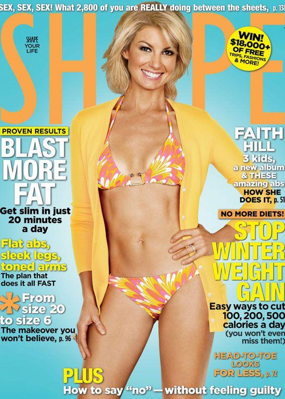 Faith hill playboy magazine