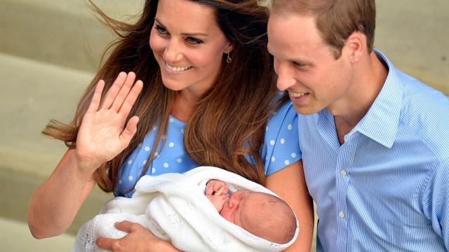Принц уильям и кейт миддлтон дети как зовут