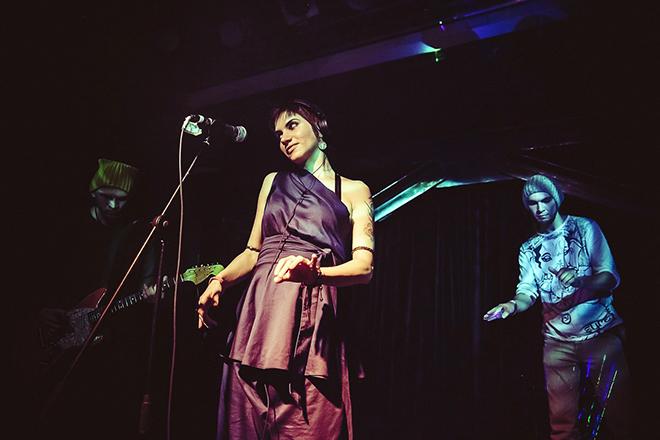 Саша Соколова на сцене
