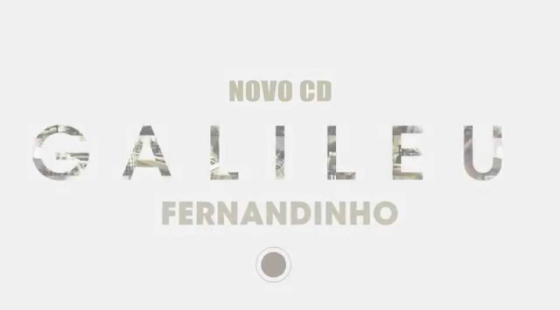 Novo CD de Fernandinho - Galileu (2015)