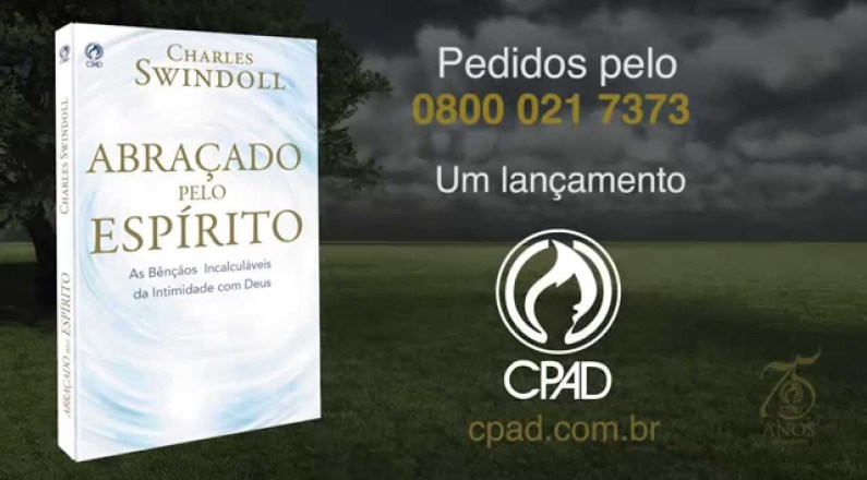 Livro Abraçado pelo Espírito - Editora CPAD