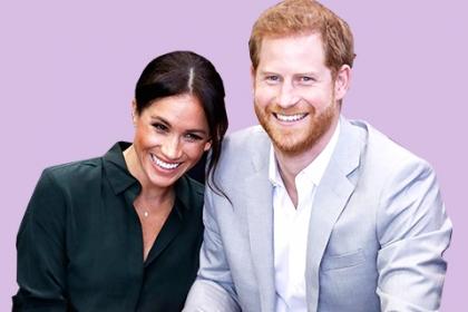 Кенсингтонский дворец опубликовал новое романтичное фото Меган Маркл и принца Гарри