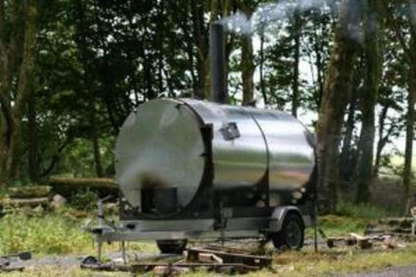 Печь для угля древесного